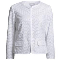 Pendleton Cotton Eyelet Jacket (For Women)