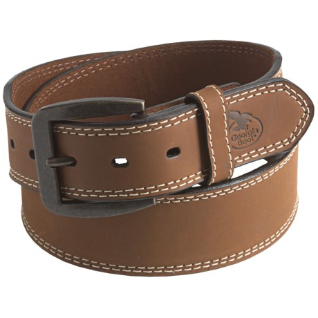 Georgia Boot Heavy-Duty Leather Belt (For Men)