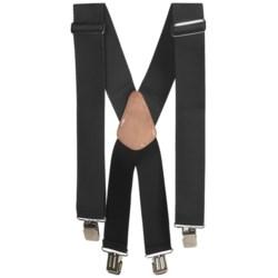 Men At Work Adjustable Suspenders (For Men)
