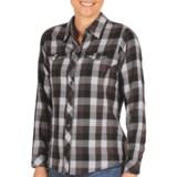 ExOfficio Pocatello Plaid Shirt - Peached Flannel, Long Sleeve (For Women)