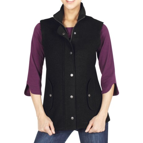 ExOfficio Tweedmuir Vest - Boiled Wool (For Women)