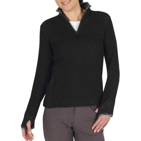 ExOfficio Roughian Sweater - Fleece-Lined, Zip Neck (For Women)