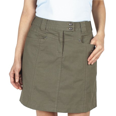 ExOfficio Roughian Skirt - UPF 50+, Canvas (For Women)