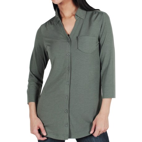 ExOfficio Go-To Shirtigan - 3/4 Sleeve (For Women)