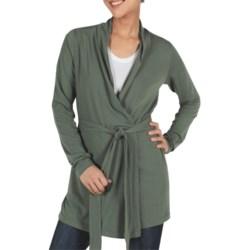 ExOfficio Go-To Stretch Jersey Wrap - Dri-Release®, FreshGuard®, Long Sleeve (For Women)