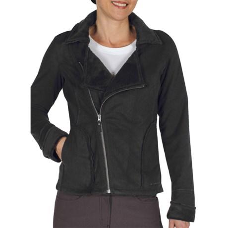 ExOfficio Persian Fleece Jacket - Asymmetrical Zip (For Women)