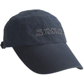 Long bill simms hat simms 8 panel washed twill long bill for Long bill fishing hat