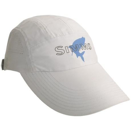 Simms Microfiber Long Bill Cap - UPF 50+ (For Men)