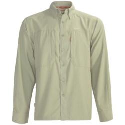 Simms BugStopper NFZ Shirt - UPF 50+, Long Sleeve (For Men)