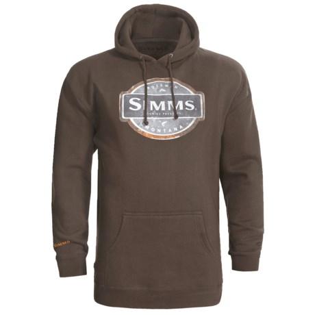 Simms Pullover Hoodie Sweatshirt (For Men)