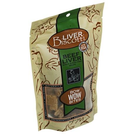 Premier Pet Liver Biscotti Bow Wow Bites - Wheat- and Egg-Free Recipe, 3.5 oz.