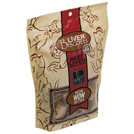 Premier Pet Liver Biscotti Bow Wow Bites - Original Recipe, 6.5 oz.