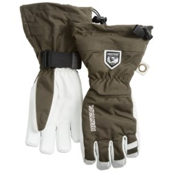 Hestra Gloves - Army Leather Heli (For Men and Women)