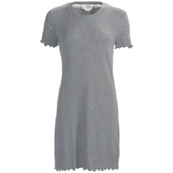 Feraud Paris Rib-Knit Nightshirt - Short Sleeve (For Women)