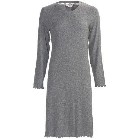 Feraud Paris Rib-Knit Nightshirt - Long Sleeve (For Women)