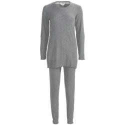 Feraud Paris Rib-Knit Pajamas - Long Sleeve (For Women)