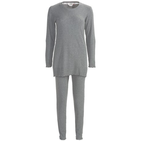 Feraud Paris Rib-Knit Pajamas - Long Sleeve (For Women)
