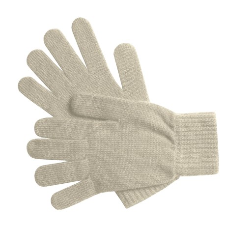 Johnstons of Elgin Cashmere Gloves (For Women)