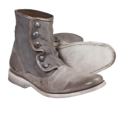 John Varvatos Bowery Button Boots - Leather (For Men)