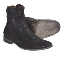 John Varvatos Summer Casual Zip Boots - Leather (For Men)