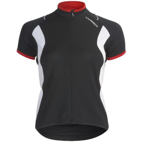 Orbea Dama Cycling Jersey - Zip Neck, Short Sleeve (For Women)