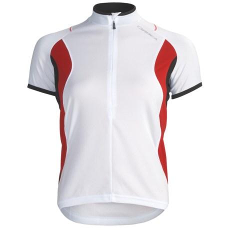 Orbea Dama Cycling Jersey - Zip Neck, Short Sleeve (For Women)
