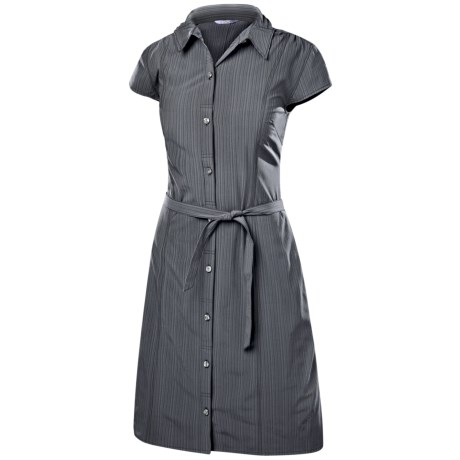Isis Vineyard Shirt Dress - UPF 30+, Short Sleeve (For Women)