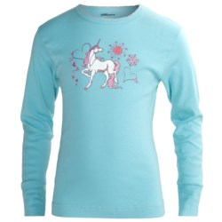 Watson's Long Underwear Top - Long Sleeve (For Girls)