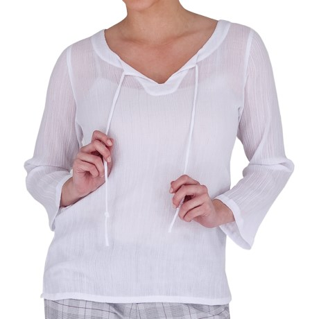 Royal Robbins Peasant Crinkle Dobby Shirt - 3/4 Sleeve (For Women)