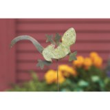 Ancient Graffiti Gecko Garden/Yard Stake - Ceramic