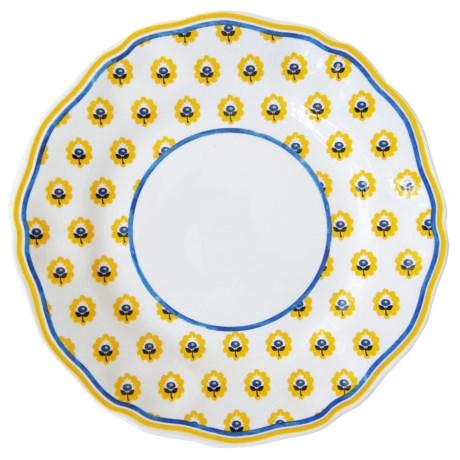 Le Cadeaux Fleur de Provence Salad Plates - Set of 4, Melamine