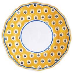 Le Cadeaux Fleur de Provence Dinner Plate - Set of 4, Melamine