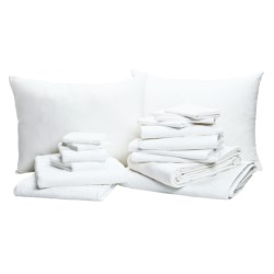 Dorm in a Box Linens Package - XL Twin, 16-Piece Set