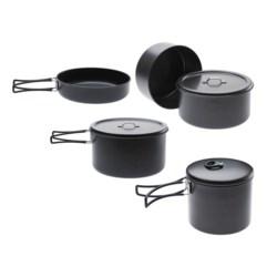 Edelrid Ardor Non-Stick Cookware Set - 4-Piece