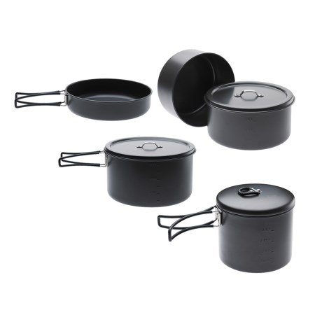 Edelrid Ardor Non-Stick Cookware Set - 4-Piece