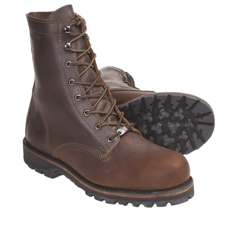 "Wolverine Plainsman 8"" Boots (For Men)"