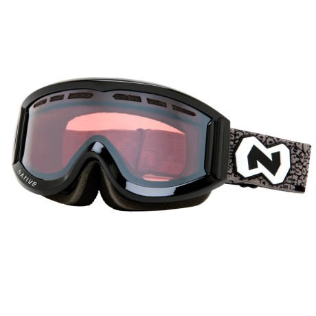 Native Eyewear Riva Snowsport Goggles - Polarized Reflex Lenses