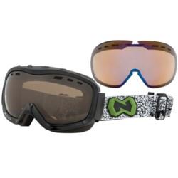 Native Eyewear Kicker Snowsport Goggles - Interchangeable Polarized Lenses