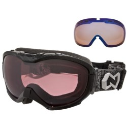 Native Eyewear Boomer Snowsport Goggles - Reflex Polarized Lens, Sportflex Non-Polarized Lens