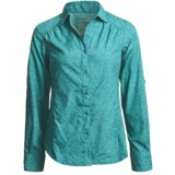 Merrell Cambia Smock Waist Shirt - UPF 30+, Long Sleeve (For Women)