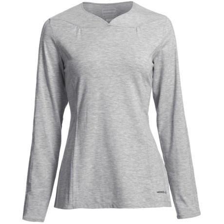 Merrell Gracewill Shirt - UPF 20+, Long Sleeve (For Women)