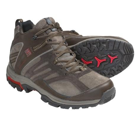 Columbia Sportswear Shasta Ridge Mid Omni-Tech® Trail Shoes  - Waterproof, Leather (For Men)