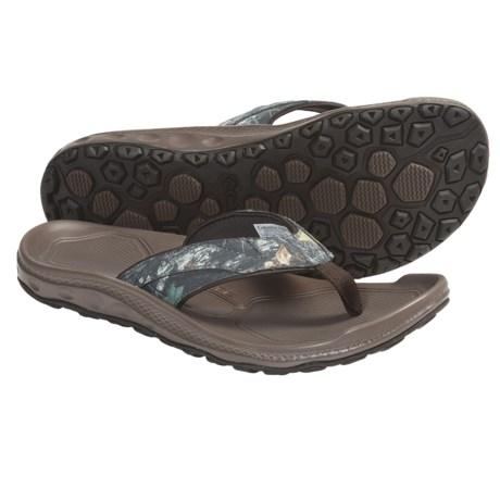 Columbia Sportswear Techsun Flip III Camo Sandals - Mossy Oak® (For Men)