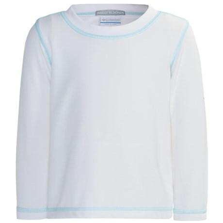 Columbia Sportswear Bug Shield Shirt - UPF 50, Long Sleeve (For Toddler Girls)