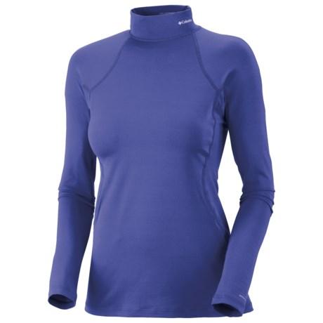 Columbia Sportswear Base Layer Mock Neck Omni-Heat® Top - Midweight, Long Sleeve (For Women)