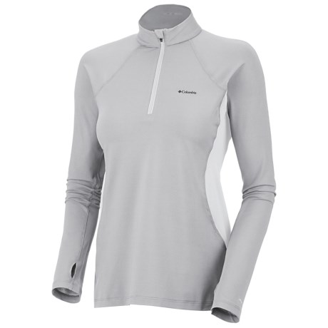 Columbia Sportswear Base Layer Omni-Heat® Top - Zip Neck, Midweight, Long Sleeve (For Women)