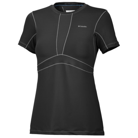 Columbia Sportswear Omni-Freeze® Base Layer Top - Lightweight, Short Sleeve (For Women)