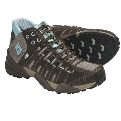 Columbia Sportswear Master of Faster Mid OutDry® Leather Hiking Boots (For Women)
