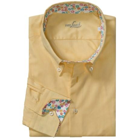 Van Laack Trim Fit Sport Shirt - Long Sleeve (For Men)
