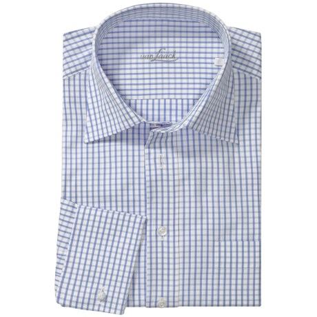 Van Laack Trim Fit French Cuff Sport Shirt - French Cuff, Long Sleeve (For Men)